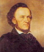 Portrait of Richard Wagner 1813 - 1883